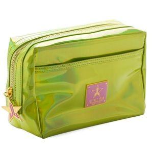 Bnib Jeffree Star Alien Yellow Makeup Bag